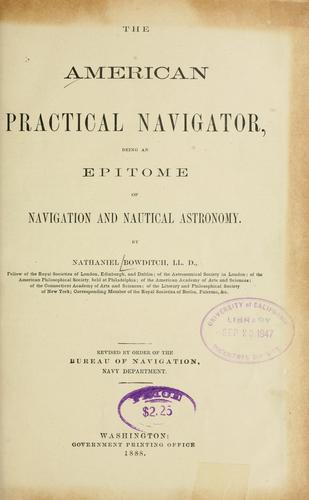 Download The American practical navigator