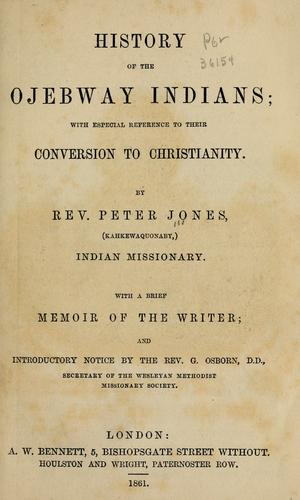 Download History of the Ojebway Indians