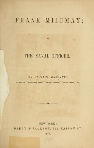 Download Frank Mildmay; or, The naval officer
