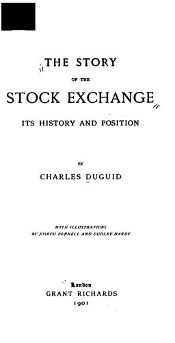 Download The story of the Stock exchange