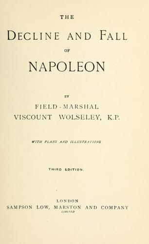 Download The decline and fall of Napoleon