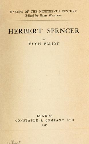 Download Herbert Spencer
