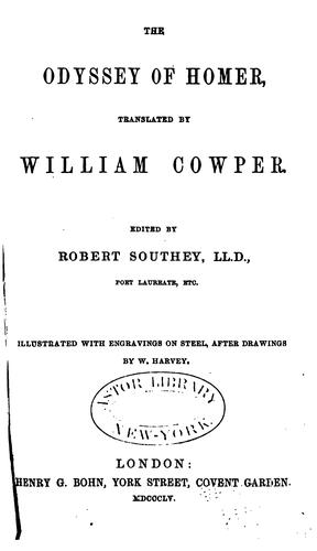 The works of William Cowper.