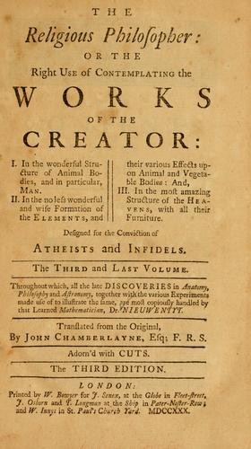 The Religious philosopher