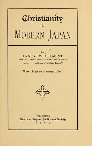 Download Christianity in modern Japan