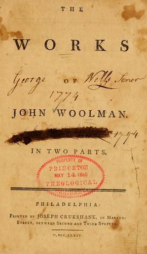 Download The works of John Woolman