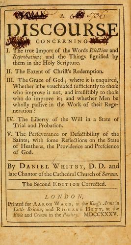 A Discourse concerning