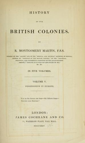 Download History of the British colonies