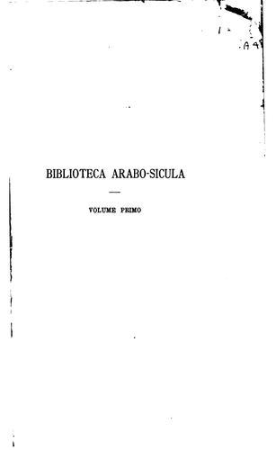Download Biblioteca arabo-sicula