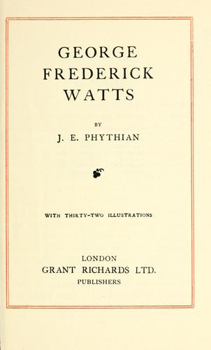 Download George Frederick Watts.