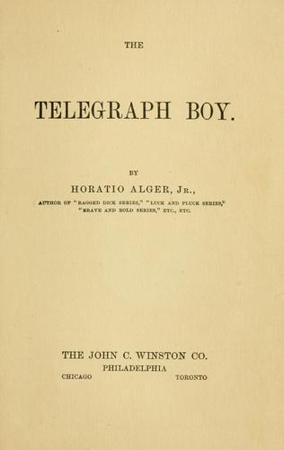 Download The telegraph boy