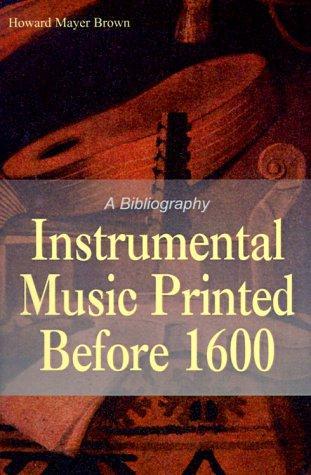Download Instrumental Music Printed Before 1600