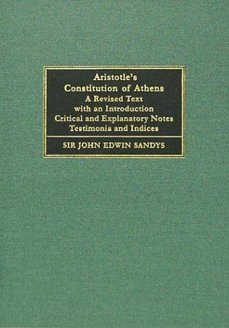Download Aristotelous Athēnaiōn Politeia =