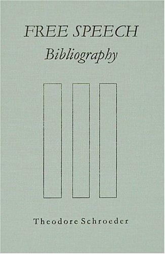 Download Free speech bibliography