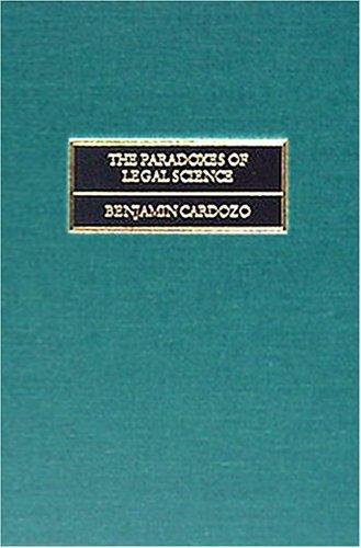Download The paradoxes of legal science