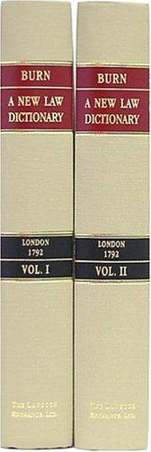 A new law dictionary