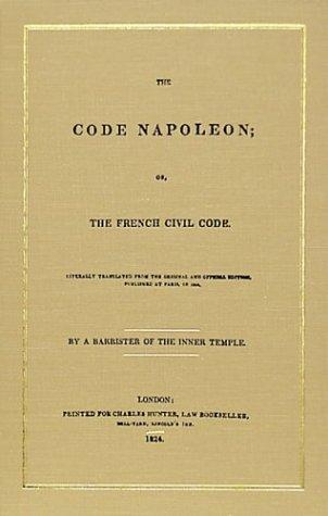 Download The Code Napoleon, or, The French Civil Code