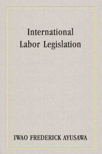 International labor legislation