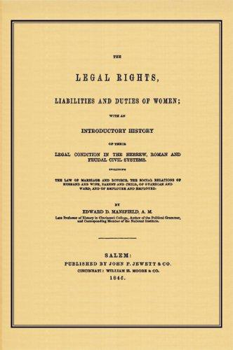 The legal rights, liabilities, and duties of women