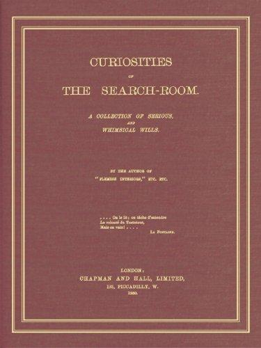 Download Curiosities of the search-room