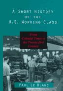 A short history of the U.S. working class