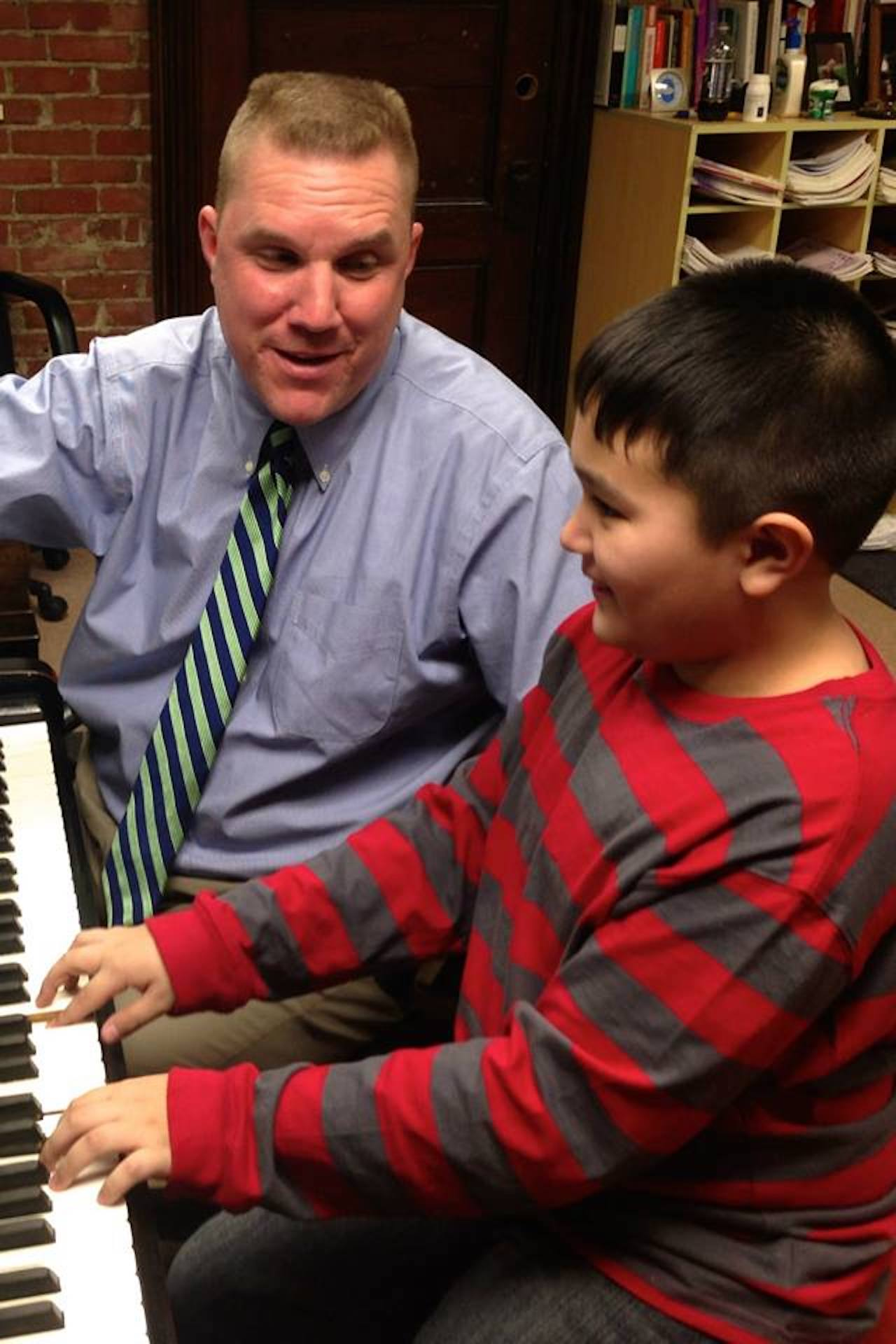 Piano Lessons at St. Peter's Community Arts Academy (photo)