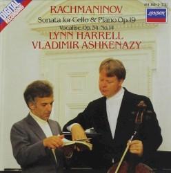Vladimir Ashkenazy - Rachmaninov: Sonata for Cello and Piano in G minor, Op.19 - 4. Allegro mosso