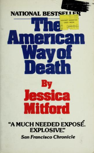 American Way of Death by Jessica Mitford