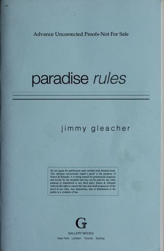 Paradise rules by Jimmy Gleacher