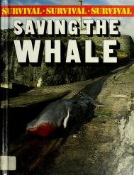 Cover of: Saving the whale | Bright, Michael.