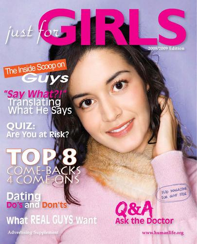 Just for Girls and Just 4 Guys 2008 - Magazine by Human Life Alliance