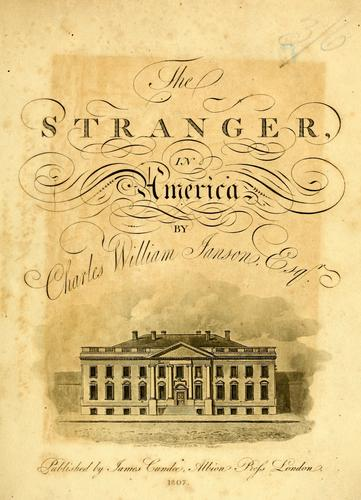 The stranger in America