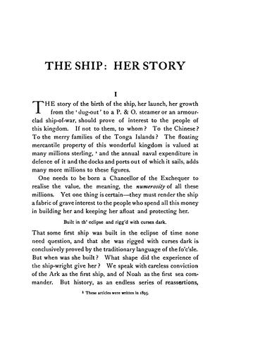 The ship by William Clark Russell