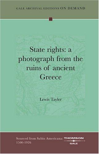 State rights by Lewis Tayler