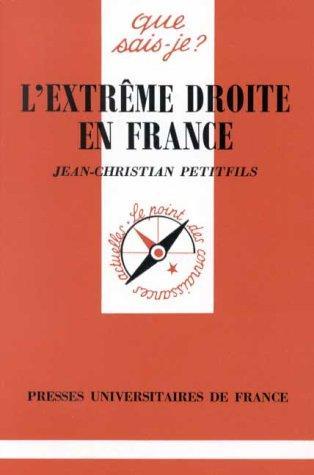 L' extrême droite en France