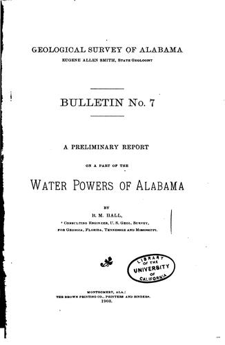 Bulletin - Geological Survey of Alabama by Geological Survey of Alabama