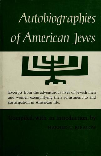 Autobiographies of American Jews