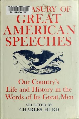 A treasury of great American speeches