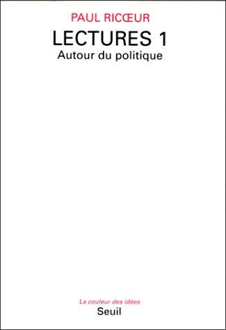Lectures (La Couleur des idees) by Paul Riceur