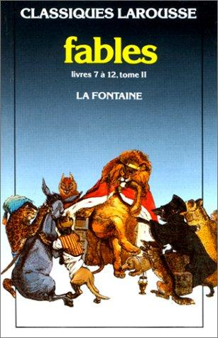 Fables Choisies 2* by Jean de La Fontaine