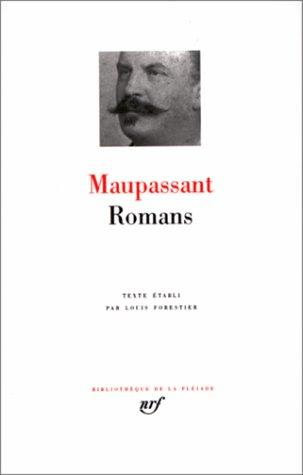 Novels by Guy de Maupassant