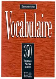 350 Exerc de Vocab Avance Texts et Gloss Livre