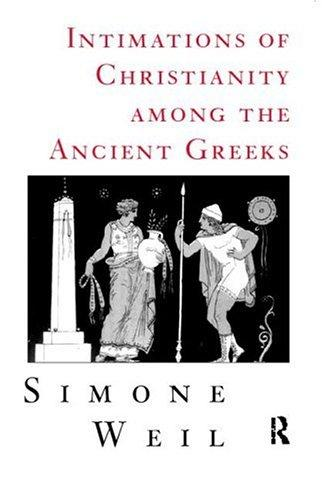 Image 0 of Intimations of Christianity Among the Ancient Greeks