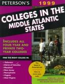 Peterson's Colleges in the Middle Atlantic States 1999 by Petersons