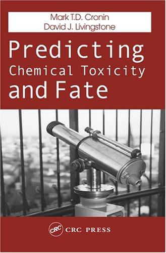 Predicting chemical toxicity and fate by