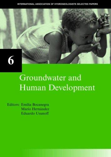 Groundwater and human development by