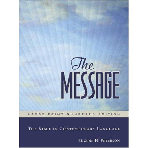 The Message Bible International Paperback