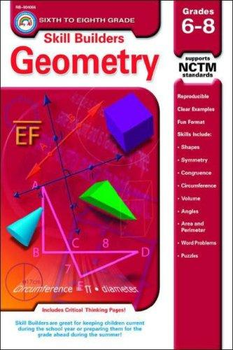 Geometry Grades 6-8 (Skill Builders Series) by Douglas M. Sept