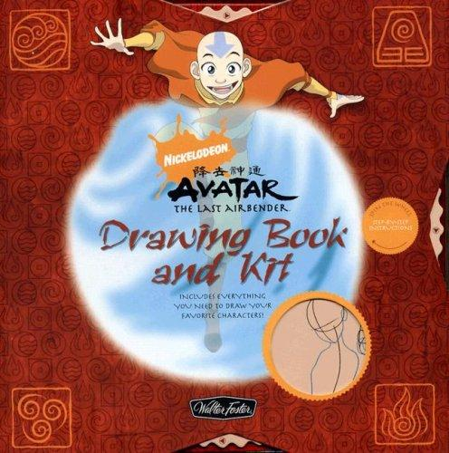 Nickelodeon Avatar: The Last Airbender Drawing Book and Kit by Shane Johnson