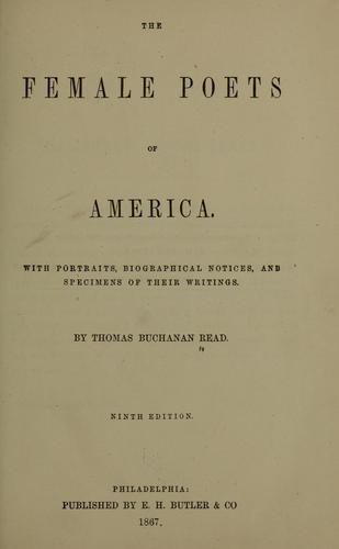 The female poets of America.